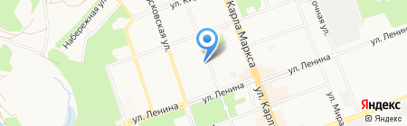 Power Club на карте Ангарска