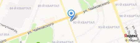 Новоселье+ на карте Ангарска