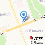 Поликлиника №4 на карте Ангарска