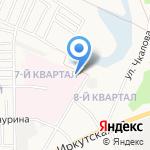 Медико-санитарная часть №36 на карте Ангарска