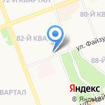 Аистенок на карте Ангарска