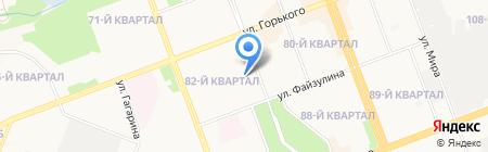 Искорка на карте Ангарска