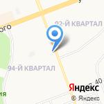 Ломбард Сибирский на карте Ангарска