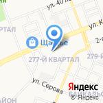 Ангарский индустриальный техникум на карте Ангарска