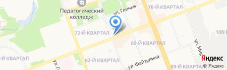 Диана на карте Ангарска