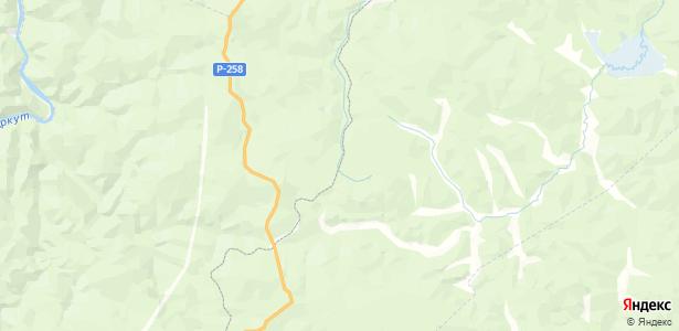 Источник на карте
