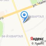 Планета-Мебель Ангарск на карте Ангарска