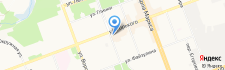 Сакура на карте Ангарска