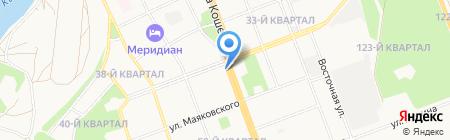 Фитофлер на карте Ангарска