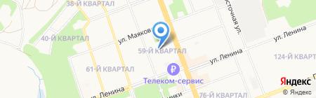 МАСТЕР МАРКЕТ на карте Ангарска