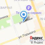 Музей минералов на карте Ангарска