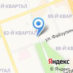 Ангарская жилищная компания на карте Ангарска