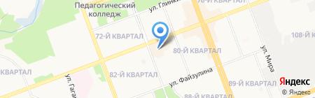 Ялма на карте Ангарска
