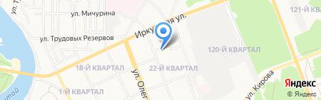 ЖЭТ №2 на карте Ангарска