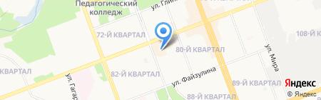Фиеста на карте Ангарска