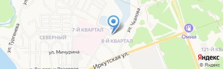 СТРИЖАМЕНТ на карте Ангарска