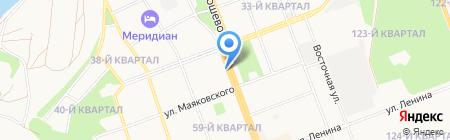 Флагман на карте Ангарска