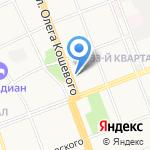 Шанталь на карте Ангарска