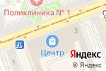 Схема проезда до компании Крылья в Ангарске