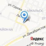 Мальва на карте Ангарска