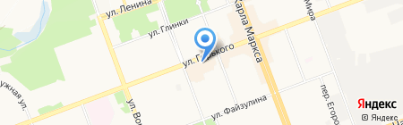 Монолит-Байкал на карте Ангарска