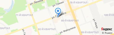 Братский трикотаж на карте Ангарска