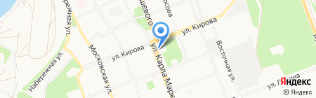Уют на карте Ангарска