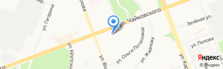Центр Ангарской Недвижимости на карте Ангарска