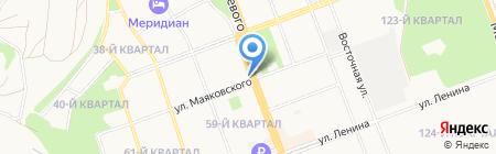 Шоколад на карте Ангарска