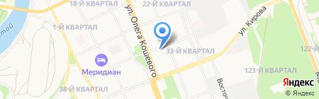 Регион-тур на карте Ангарска