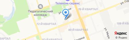 Викинг на карте Ангарска