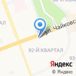 Магазин женской одежды на карте Ангарска