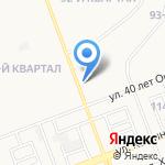 СТК на карте Ангарска