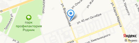 Ассоль на карте Ангарска