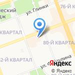 Мех Холл на карте Ангарска
