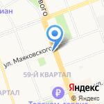 Кудесник на карте Ангарска