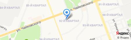 Детский сад №9 на карте Ангарска