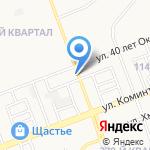 Автостоп на карте Ангарска
