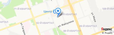Детский сад №34 на карте Ангарска
