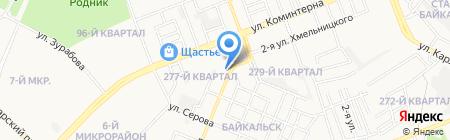 Крафтикс на карте Ангарска