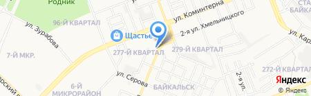 Ангарскгоргаз на карте Ангарска