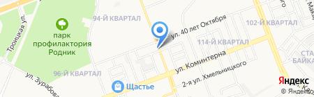 Маяк на карте Ангарска