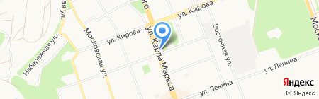 АЛТО на карте Ангарска
