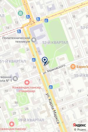 Полиграфычъ на карте Ангарска