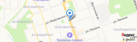 Адвокатский кабинет Смирновой Т.С. на карте Ангарска