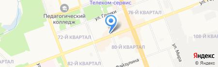 Статус на карте Ангарска