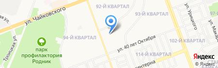 Детский сад №97 на карте Ангарска