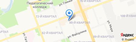 Радуга звуков на карте Ангарска