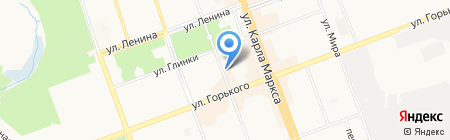 Арс Нова на карте Ангарска