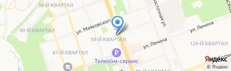 Департамент по экономике и финансам на карте Ангарска